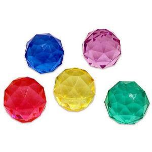 スーパーボール49mm ダイヤモンド 10入 景品 おもちゃ 子供会 お祭り くじ引き 縁日 お子様ランチ|aoigangu