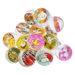 スヌーピースーパーボール27mm 50入 景品 おもちゃ 子供会 お祭り くじ引き 縁日 お子様ランチ|aoigangu