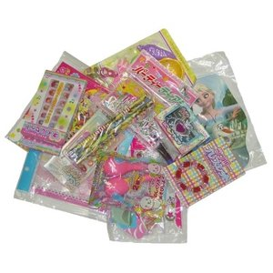 お子様ランチおもちゃ(女の子向け)100個セット 景品 おもちゃ 子供会 お祭り くじ引き 縁日 お子様ランチ aoigangu