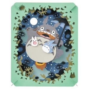 【メール便可】ペーパーシアター となりのトトロ 月光る大空 (PT-048) 景品 おもちゃ 子供会 お祭り くじ引き 縁日 お子様ランチ|aoigangu
