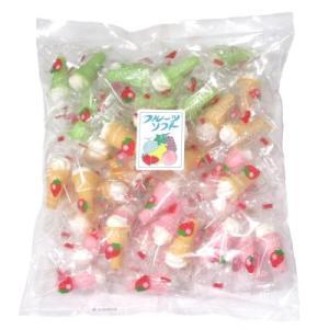 福徳製菓 フルーツソフト 50個入 駄菓子 子供会 景品 お祭り くじ引き 縁日|aoigangu