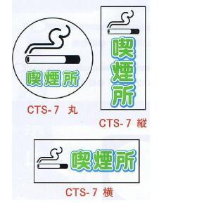コーントップサイン 喫煙所 CTS-7 ハカマ付|aok-safetyshop