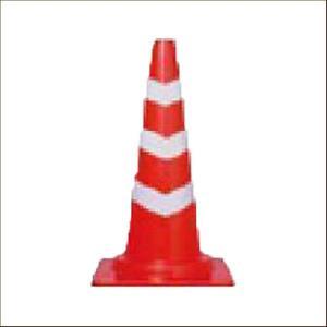 カットスコッチコーン 赤白 軽量|aok-safetyshop