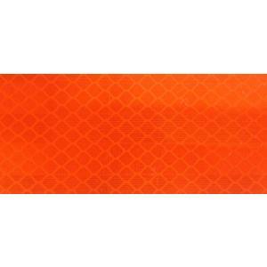 カプセルプリズム型高輝度反射シート 蛍光オレンジ 90x250 明るさ2倍 3M  定形外郵便発送商品|aok-safetyshop