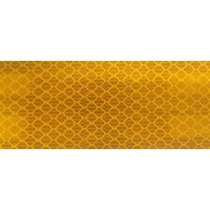 カプセルプリズム型高輝度反射シート 黄 90x250 明るさ2倍 3M  定形外郵便発送商品|aok-safetyshop