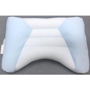 ドクタースリープ 枕 約43x63cm 06-DS3905 ブルー 高さ低め 京都西川 日本製 手洗い可能 aokifuton 02