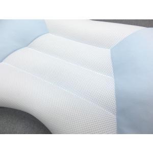 ドクタースリープ 枕 約43x63cm 06-DS3905 ブルー 高さ低め 京都西川 日本製 手洗い可能 aokifuton 04
