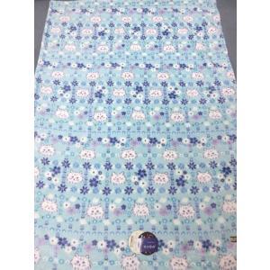 ねこ柄 合わせ毛布 140x200cm シングルサイズ 2CC4011 京都西川 aokifuton 03