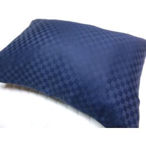 サテンチェック ピローケース 35x50cm そば枕等に 綿100%  国産生地 日本製 |aokifuton|05