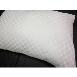 サテンチェック ピローケース 43x63cm 標準サイズ 綿100%  国産生地 日本製 |aokifuton|03