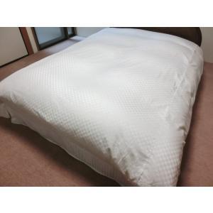 デュベシーツ セミダブルロング サテンチェック 掛け布団カバー 170x210cm用 綿100% 日本製|aokifuton|06