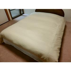 デュベシーツ セミダブルロング サテンチェック 掛け布団カバー 170x210cm用 綿100% 日本製|aokifuton|10