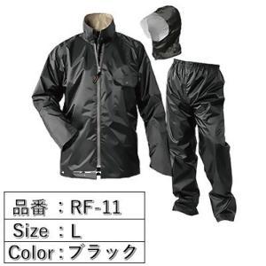 おたふく手袋 レインファクトリー ベーシック ブラック L RF-11の商品画像|ナビ
