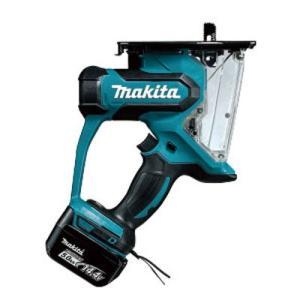 マキタ電動工具  充電式ボードカッタ SD140DRTX 14.4V 5.0Ah(充電器・電池2個・...
