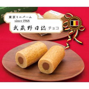 武蔵野日誌チョコ25個入〜チョコクリーム入ミニバウムクーヘン|aokiya