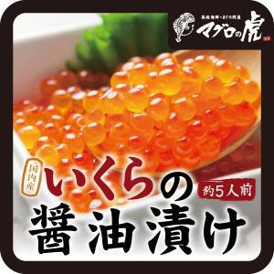 国内産 いくらの醤油漬け (500g)海鮮グルメ  贈り物やギフトに最適 aomonya