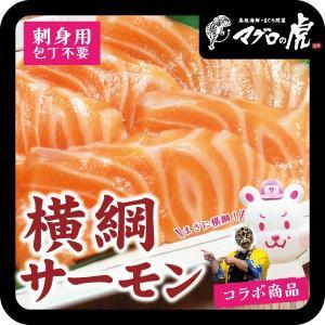 横綱サーモン 刺身 120g 海鮮丼 刺身|aomonya