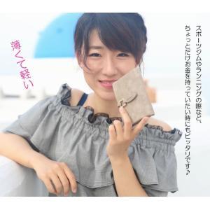 二つ折り財布 レディース ミニ財布 安い プチプラ 春財布 開運 軽い財布 薄い 送料無料 アースカラー 小銭入れあり 女性用 極小財布|aomushi|18