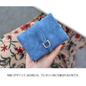 二つ折り財布 レディース ミニ財布 安い プチプラ 春財布 開運 軽い財布 薄い 送料無料 アースカラー 小銭入れあり 女性用 極小財布|aomushi|20