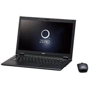 新品 NEC LAVIE Hybrid ZERO HZ550/DAB PC-HZ550DAB-BKS [ストームブラック](Office なし)