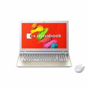 新品 東芝 dynabook T45/TY PT45TGY-SWA [サテンゴールド](Office なし)