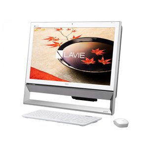 新品同様  NEC PC-DA350CAW デスクトップパソコン LAVIE Desk All-in-one DA350/CAW  [Celeron D/メモリ 4GB/HDD 1TB]