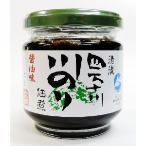 四万十川の川のり佃煮(しょうゆ味)150g|aonori