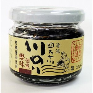 四万十川 川のり佃煮(かつお味)95g 有機丸大豆醤油使用|aonori
