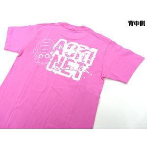 あおりねっとオリジナルTシャツ(エギ&ヤエンバージョン) ピンク aorinetshop