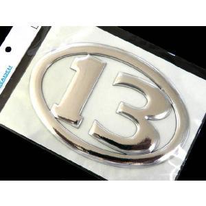 ブリーデン(BREADEN) 3Dデカール 13オーバル140