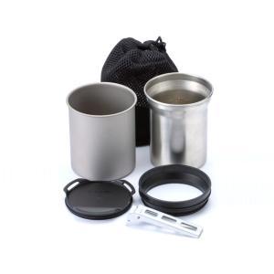 2つのマグカップ(350ml、400ml)、ジョイント、マグリッド、リフターの多機能マグセット。  ...