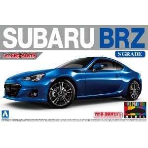 SUBARU BRZ'12 WRブルーマイカ 1/24 プリペイントモデル No.37 #プラモデル aoshima-bk