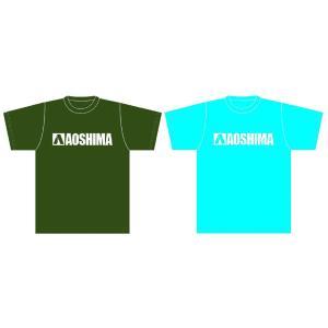 アオシマ Tシャツ (数量限定カラー) 白ロゴ Mサイズ #雑貨 aoshima-bk