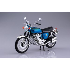 ホンダ CB750FOUR(K0) キャンディブルー 1/12 完成品バイク #完成品|aoshima-bk