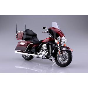HARLEY-DAVIDSON 2013 FLHTK エレクトラグライド ウルトラ リミテッド(レッド) 1/12 完成品バイク #完成品|aoshima-bk