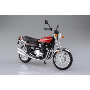 [アオシマ通販限定■同梱不可]KAWASAKI 900Super4(Z1) ファイヤーボール 1/12 完成品バイク ★5月予約品★