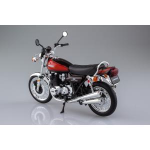 [限定品]KAWASAKI 900Super4(Z1) ファイヤーボール 1/12 完成品バイク aoshima-bk 02