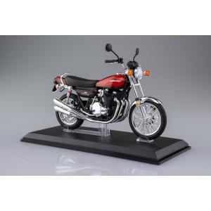 [限定品]KAWASAKI 900Super4(Z1) ファイヤーボール 1/12 完成品バイク aoshima-bk 14