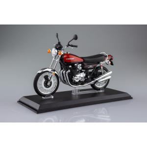 [限定品]KAWASAKI 900Super4(Z1) ファイヤーボール 1/12 完成品バイク aoshima-bk 15