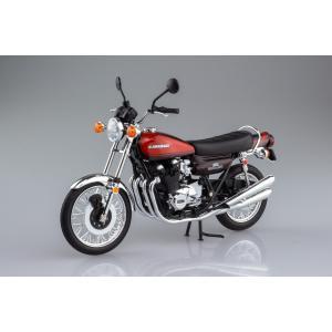 [限定品]KAWASAKI 900Super4(Z1) ファイヤーボール 1/12 完成品バイク aoshima-bk 03