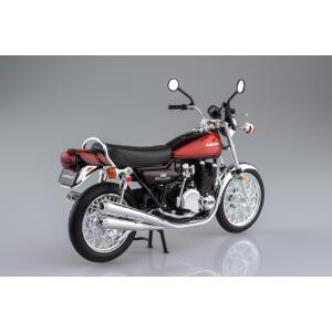 [限定品]KAWASAKI 900Super4(Z1) ファイヤーボール 1/12 完成品バイク aoshima-bk 04