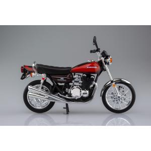 [限定品]KAWASAKI 900Super4(Z1) ファイヤーボール 1/12 完成品バイク aoshima-bk 05