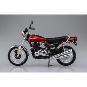 [限定品]KAWASAKI 900Super4(Z1) ファイヤーボール 1/12 完成品バイク aoshima-bk 06