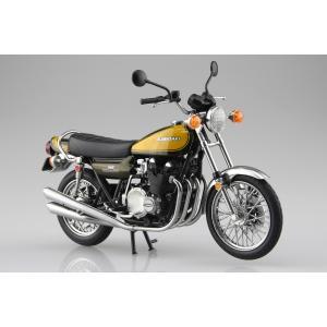 KAWASAKI 900Super4(Z1) イエローボール 1/12 完成品バイク #完成品|aoshima-bk