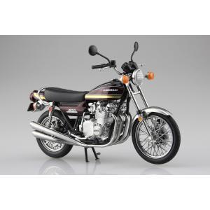 KAWASAKI 900Super4(Z1) 玉虫マルーン 1/12 完成品バイク #完成品|aoshima-bk