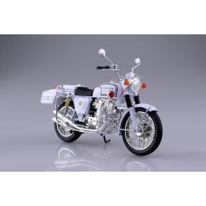 ホンダ CB750FOUR(K0) 白バイ 1/12 完成品バイク #完成品|aoshima-bk