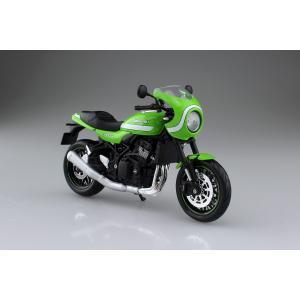 KAWASAKI Z900RS カフェ ビンテージライムグリーン 1/12 完成品バイク #完成品|aoshima-bk