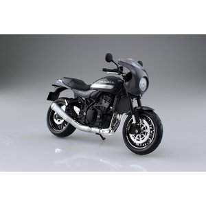 KAWASAKI Z900RS カフェ パールストームグレー 1/12 完成品バイク #完成品|aoshima-bk