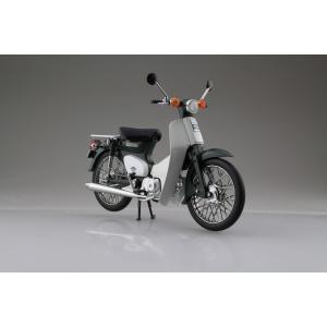 Honda スーパーカブ50 グリーン 1/12 完成品バイク     #完成品 aoshima-bk