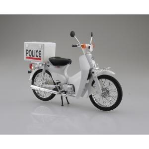 Honda スーパーカブ ポリス仕様 1/12 完成品バイク  #完成品 aoshima-bk